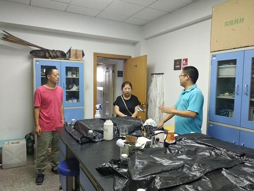 四川省农药检定所对成都市白蚁防治研究中心开展农药登记试验监督检查